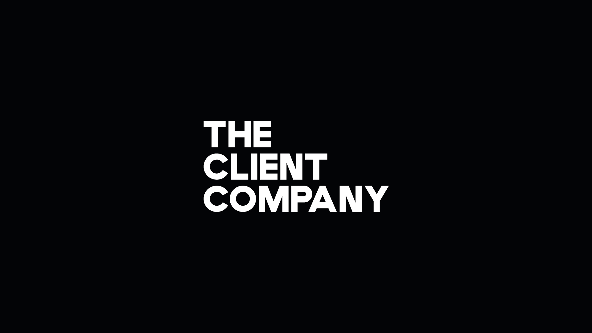 The Client Company Black